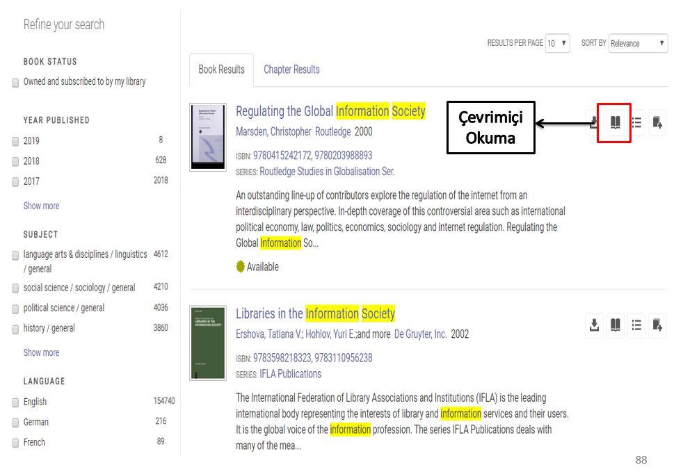 Ebook Central Çevrimiçi Okuma