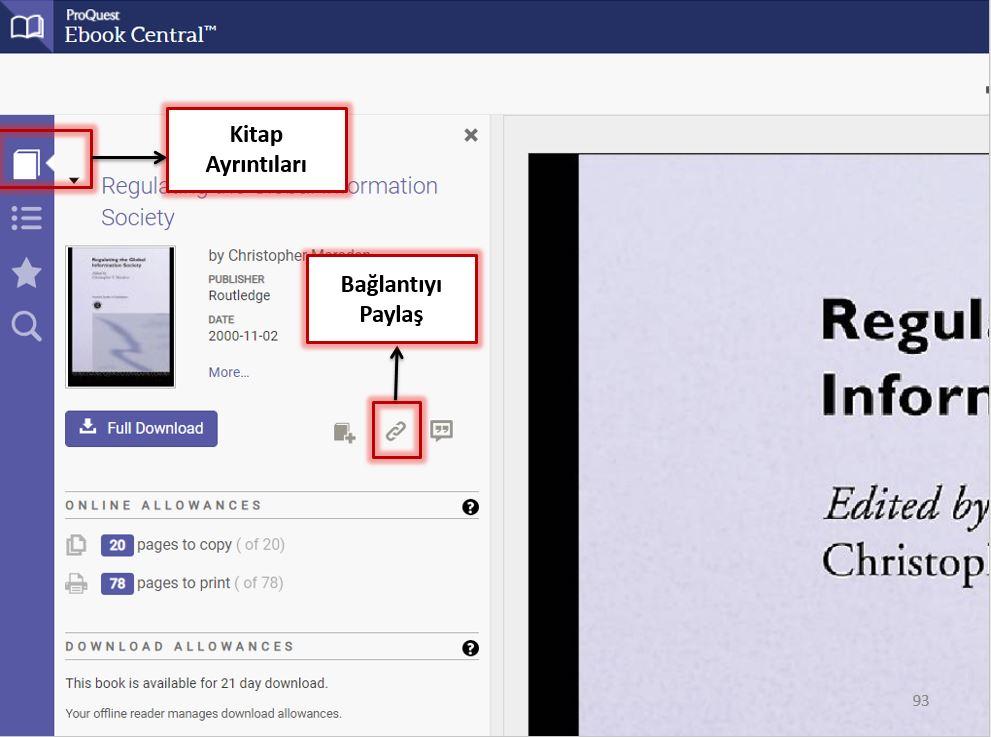 Ebook Central Bağlantı Paylaş