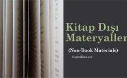 Kitap Dışı Materyal