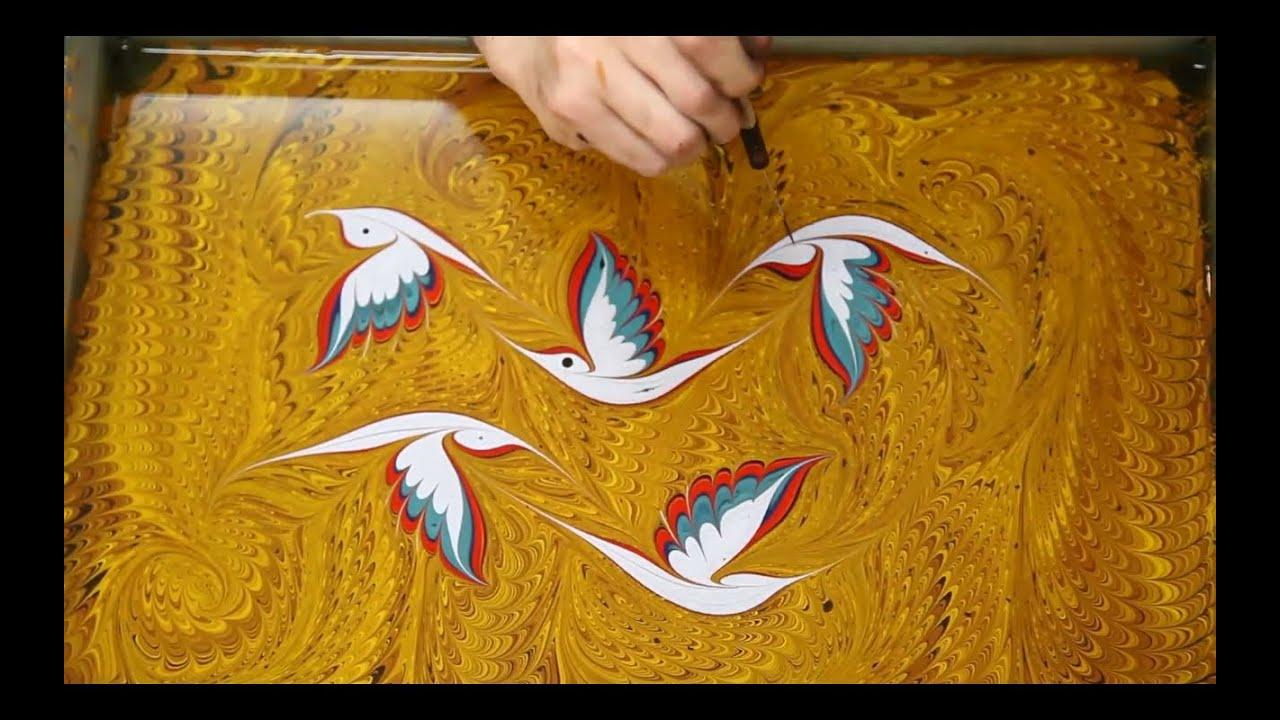 Ebru Sanatı Nedir Nasıl Yapılır? Tüm Detaylar
