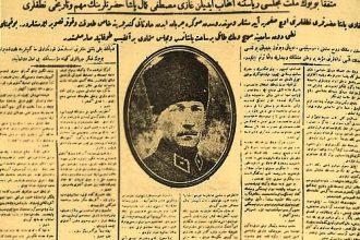 Türkiye'de Gazetenin Tarihi
